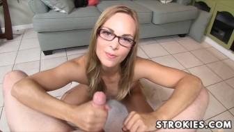 STROKIES Jenny Jett Handjob