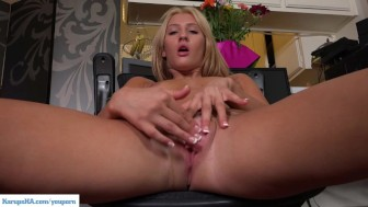 KarupsHA - Addison Ryder Plays With Pussy