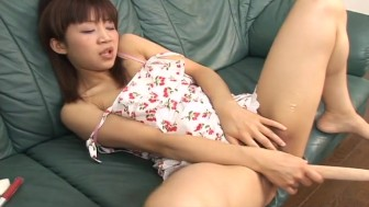 Asian sexy babe masturbation and enjoy
