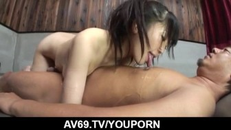 Hello Mikity gets a long dick to smash her puffy cunt