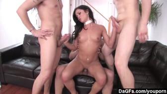 Dagfs - Mandy More Vs. 3 Hard Cocks