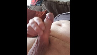 Big thick messy cumload