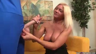 Blonde Milf's Been Greated By A Big Dick