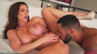 Kendra Lust hot busty MILF loving big black cock