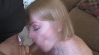 Amateur Granny Craves The Goo Stuff