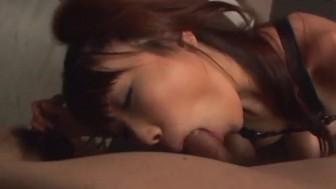 Mind blowing blowjob scenes along Saya Natsukawa