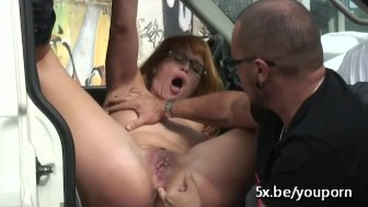 Stefano analfucks Raquel a Spanish milf