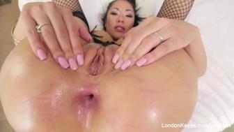 POV anal sex with hot Asian Pornstar London Keyes