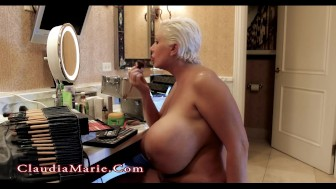 Claudia Marie Huge Saggy Fake Tits & Fat Ass