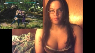 Sexy Girl Plays Game In Lingerie