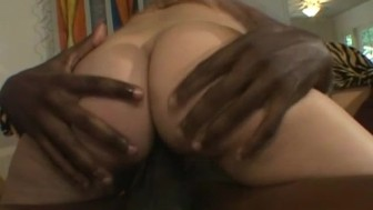 BBC Anal For Excited White Wifey