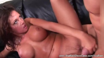 Intense Anal Sex and Blowjob