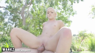 WANKZ - Cute Teen Gets Huge Accidental Creampie!