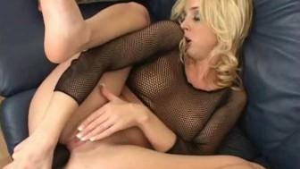 Ass stretching brutal dildo fun