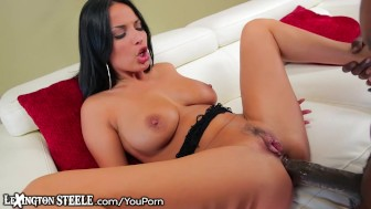 Anissa Kate takes HUGE Black Dick in Ass