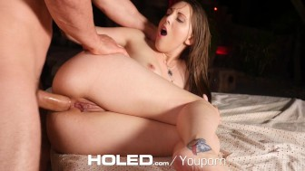 HOLED - Guy fucks Nickey Huntsmans pulsating asshole