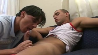 Gay Papis extremely sucking and on wild anal fucking
