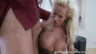 European Blonde MILF Anal Sex