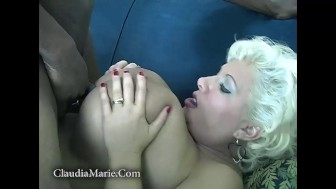 Claudia Marie's Original First Interracial Scene