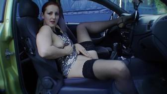 Back Seat Masturbator - Tom