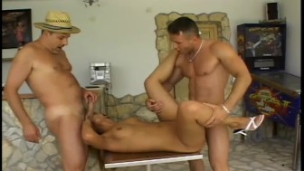 2 Cocks in The Mouth - Asses Up