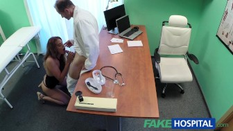 FakeHospital Doctor fucks minx in job interview
