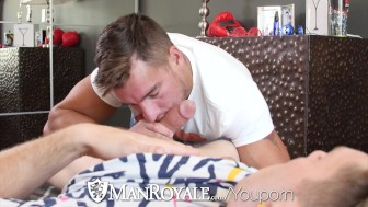 ManRoyale - Paul Canon Fucks Straight Hunk Jordan Boss