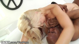 DarkX HUGE Cum Load on Busty Blondes Face