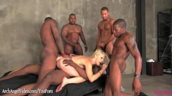 Ashley Fires banged by 5 black