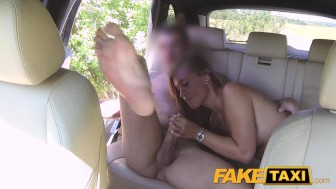 FakeTaxi Cute customer with natural tits