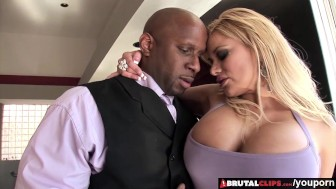 BrutalClips - Big boobed Tyla uses her luscious body to make a sale