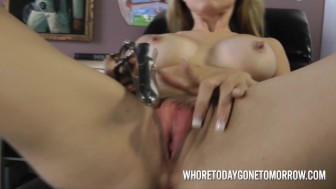 Athena Angel Extreem Toys Tit Sucktion and Fucking Machine