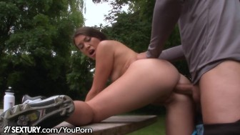21Sextury Hard Anal in the Outdoors