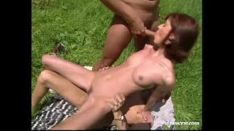 Margot, Threesome on the Grass