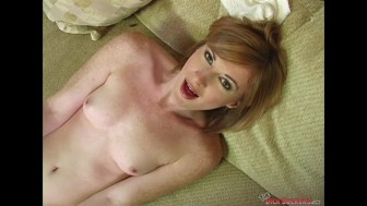 Allison Wyte Gets Her Mouth Creamed
