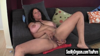 Huge Titted Shannon Finger Her Dark Beaver