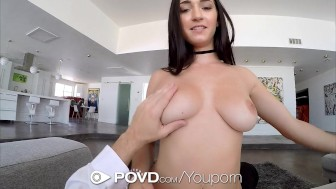 POVD - Lovely Crystal Rae gets pussy stuffed by cock in POV