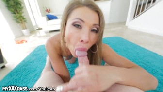 Big Booty Russian MILF POV Fucked and Facialed