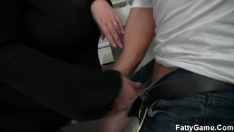BBW takes it from behind