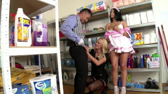 It Got Down And Dirty In The Cleaning Room - DDF Productions