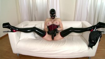 Dildo-Riding All The Way - DDF Productions