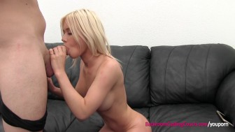 Big Tit Amateur Porn Audition and Creampie
