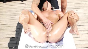 Pornpros - Beautiful euro babe Christen Courtney fucked