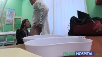 FakeHospital Dirty doctor fucks female thief and creampies her pussy