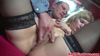Mature dutch prostitute cockriding tourist