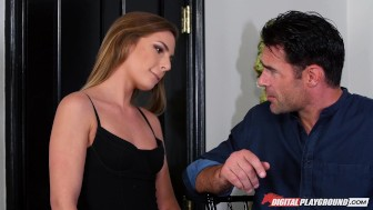 DP Star 3 - Hot Petite Pornstar Sydney Cole Deep Throat Blowjob