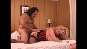 ron jeremy and a gf