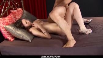 Ibuki enjoys cumon face after a good Asian fuck