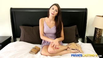 Private Casting X - Shy cutie takes a mouthful
