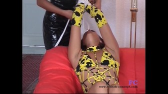 Fetish-Concept.com Hard bondage for a brunette teen
